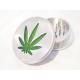 Grinder Metalico Hoja Marihuana