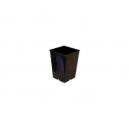 Maceta Negra 15x15x20cm (3,5 litros)