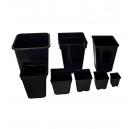 Maceta Negra 18x18x25,5cm (5,5 litros)